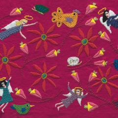 In The Tangled Hedge Embroidery on Felt