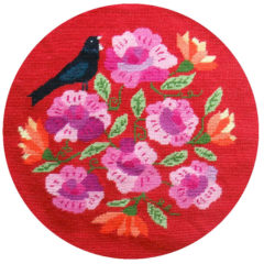 Tui and the Rosa Footstool or Cushion Kit