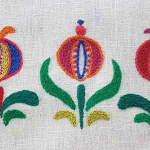 Hungarian Floral Embroidery Full