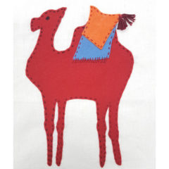 Jennifer Pudney Crafty Dog Camel Embroidery for Children