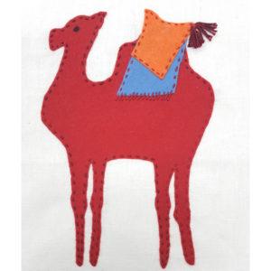 Jennifer Pudney Crafty Dog Camel Embroidery for Children