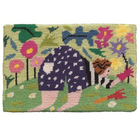 Jennifer Pudney Needlepoint A Gardeners Bottom
