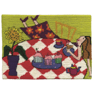 Jennifer Pudney Needlepoint An Overdose of Devonshire Tea