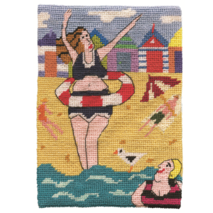 Jennifer Pudney Needlepoint Bikini Freedom