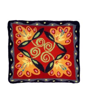 Jennifer Pudney Needlepoint Cushion Lotus