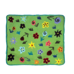 Jennifer Pudney Needlepoint Cushion Paddock