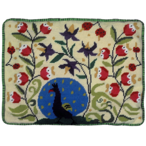 Jennifer Pudney Needlepoint Cushion Paradise Found