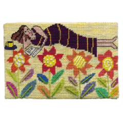 Jennifer Pudney Needlepoint Flower Bed