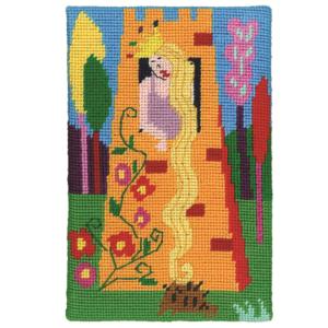 Jennifer Pudney Needlepoint Rapunzel