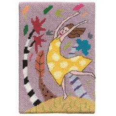 Jennifer Pudney Needlepoint Wind Dancer