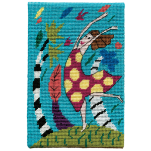 Jennifer Pudney Needlepoint Wind Dancer Blue