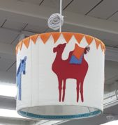 Lamp shade camel