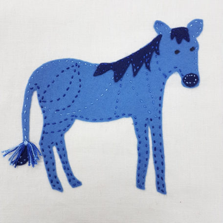 Jennifer Pudney Crafty Dog Zebra Embroidery for Children