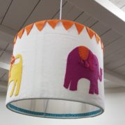 Jennifer Pudney Crafty Dog Embroidery for Children Lamp Shade